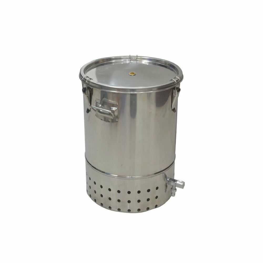 compost bin for kitchen under cabinet lights deluxe stainless steel indoor worm composter details about wormery new