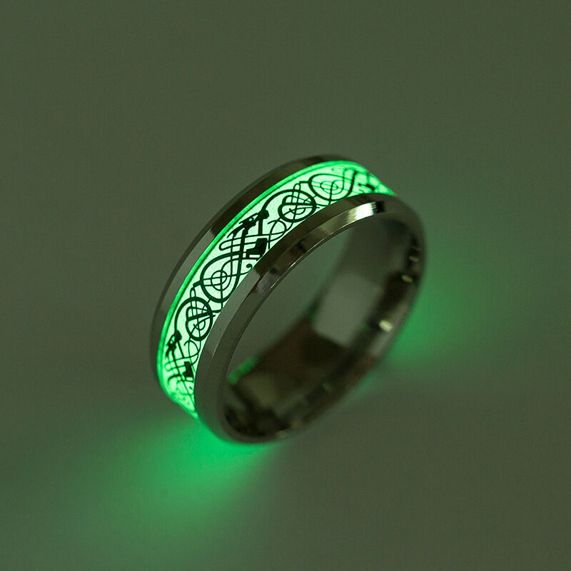 Dragon Fantasy Glow In The Dark Ring Luminous