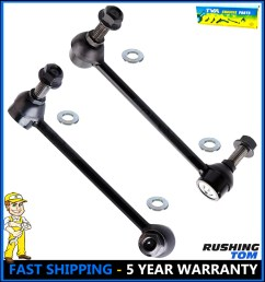details about 2 new front sway bar link kit for chrysler 300 dodge challenger charger pair [ 937 x 1000 Pixel ]