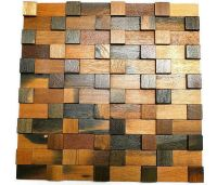Decorative Tiles For Wall, Wood Wall Tiles, 3D Wall Art ...