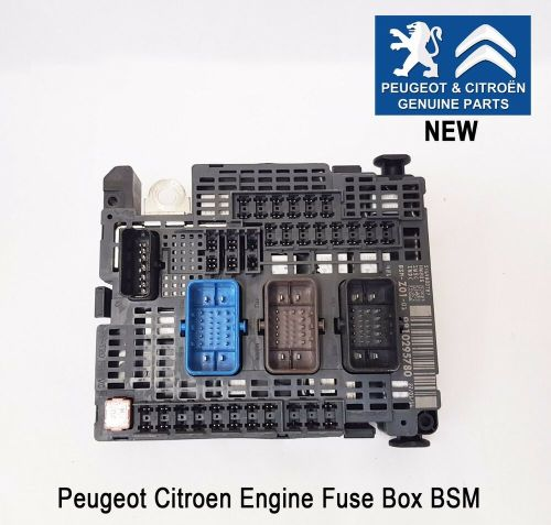 small resolution of peugeot 308 expert traveller engine fuse box bsm genuine new 9810295780 ebay