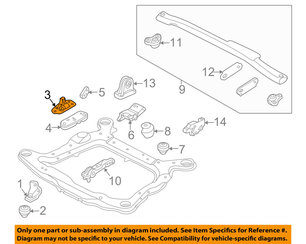 medium resolution of volvo oem 01 07 v70 engine motor mount torque strut 30748811 ebay 1999 volvo v70 spark plug wires 2003 volvo v70 engine diagram