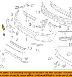 details about volvo oem 07 13 xc90 front bumper tow eye cap cover 39871243 [ 1000 x 798 Pixel ]