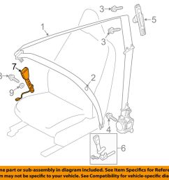 details about volvo oem 13 16 xc60 front seat belt buckle right 31369707 [ 1000 x 798 Pixel ]