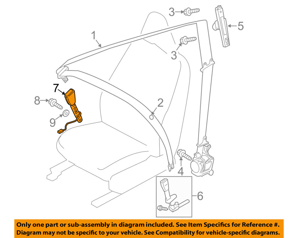 medium resolution of details about volvo oem 13 16 xc60 front seat belt buckle right 31369707