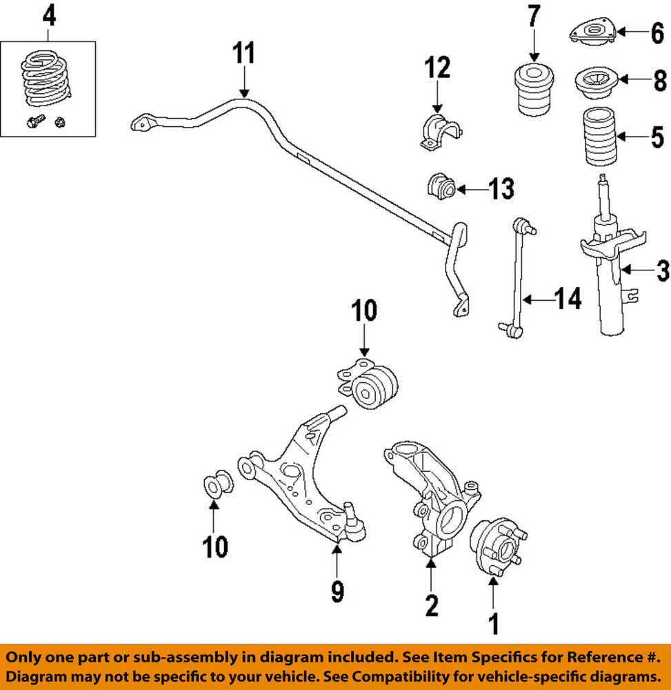 hight resolution of details about volvo oem 11 18 s60 front suspension strut 31277200