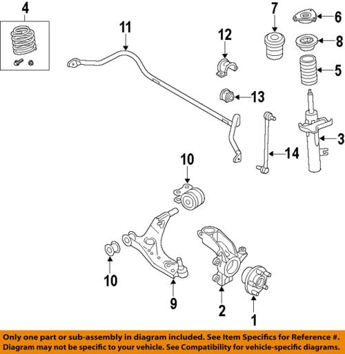 small resolution of details about volvo oem 11 18 s60 front suspension strut 31277200