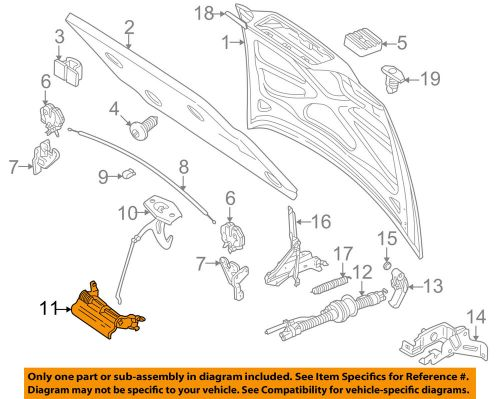 small resolution of details about volvo oem 98 00 v70 hood release lever 9170229