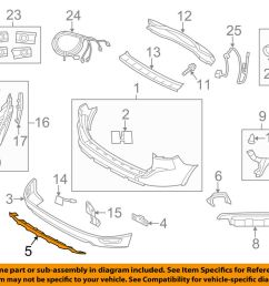 details about volvo oem 16 17 xc60 rear bumper protect plate 31425494 [ 1000 x 798 Pixel ]