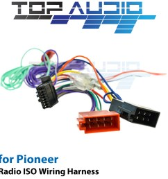 details about iso wiring harness fit pioneer avh z2150bt avh a205bt cable lead loom wire plug [ 1000 x 1000 Pixel ]