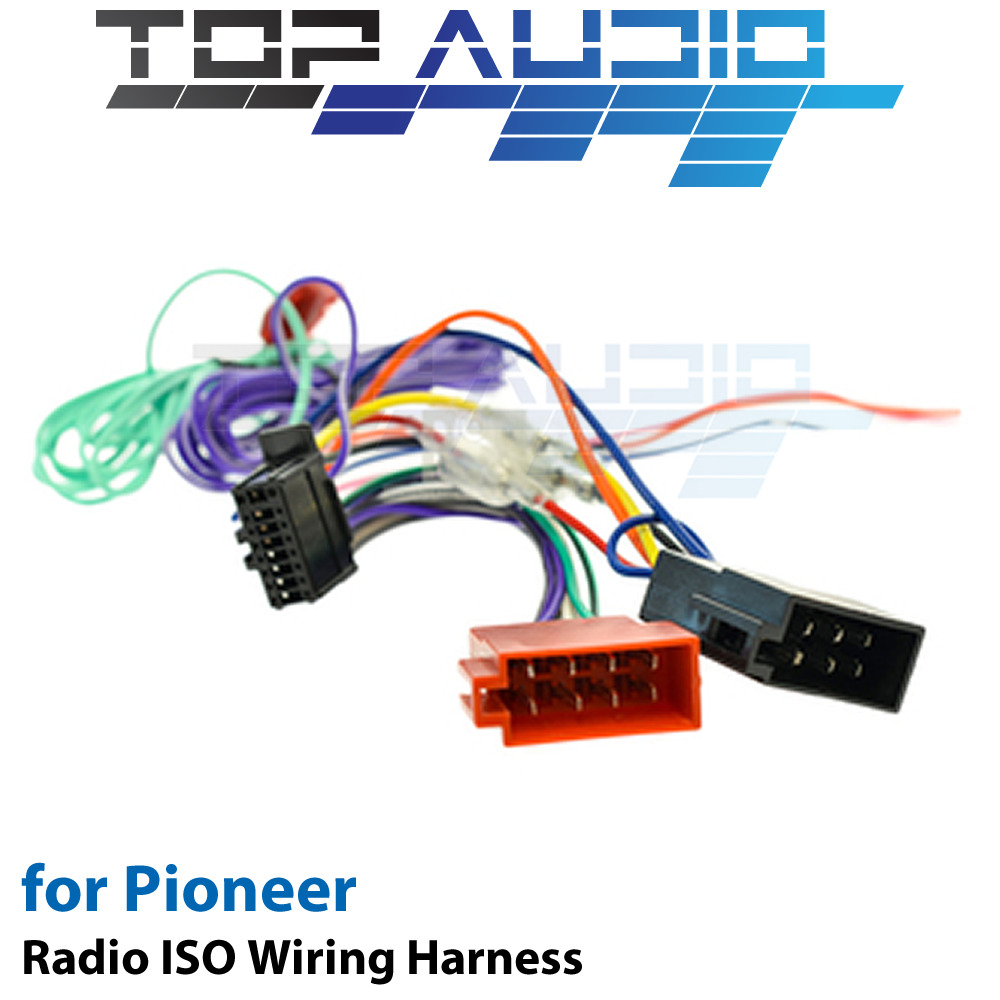 hight resolution of details about iso wiring harness fit pioneer avh z2150bt avh a205bt cable lead loom wire plug