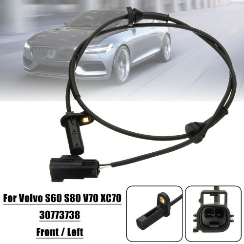 small resolution of details about front left car abs wheel speed sensor for volvo s60 s80 v70 xc70 98 10 30773738