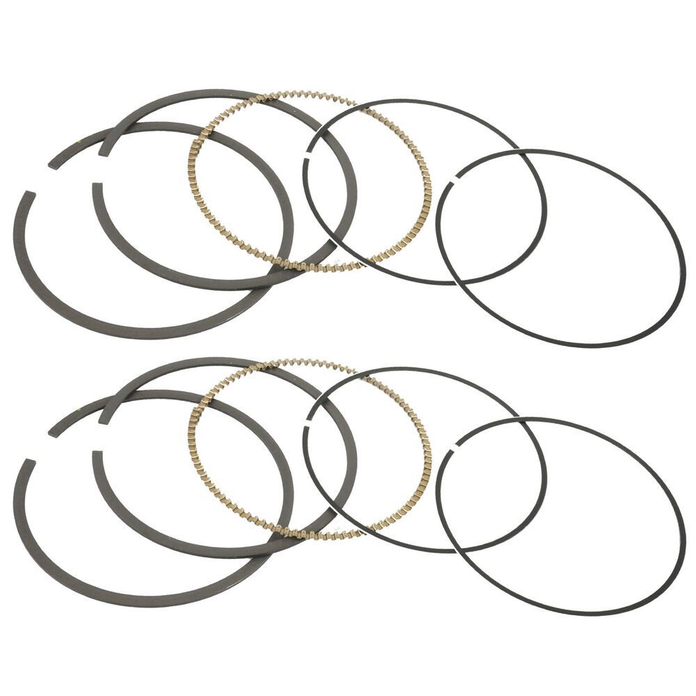 2 PISTON RING KIT FITS Polaris RZR 800 EFI 2008 2009 2010