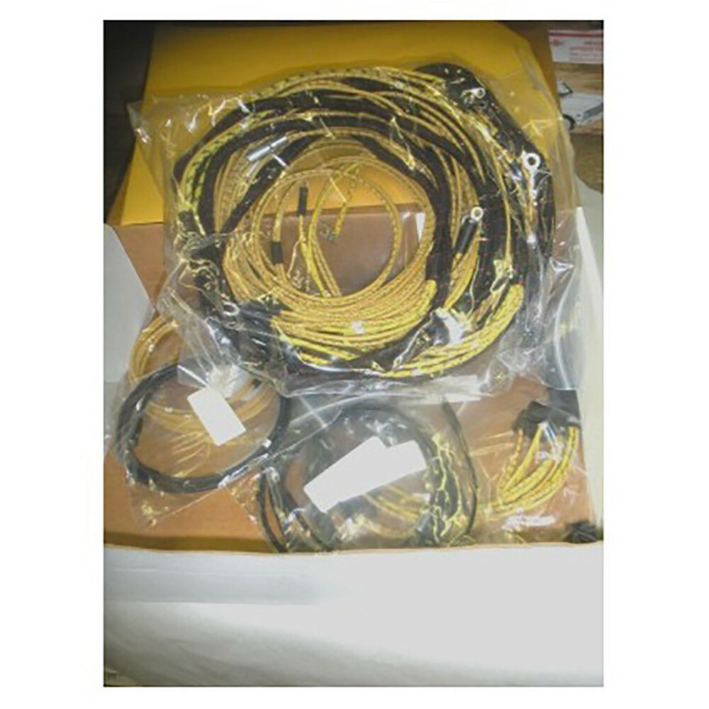 hight resolution of details about chevrolet chevy gmc truck cotton braided wiring harness 1939 1946