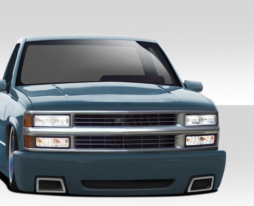 medium resolution of details about 92 99 chevy tahoe suburban duraflex ss look front bumper body kit