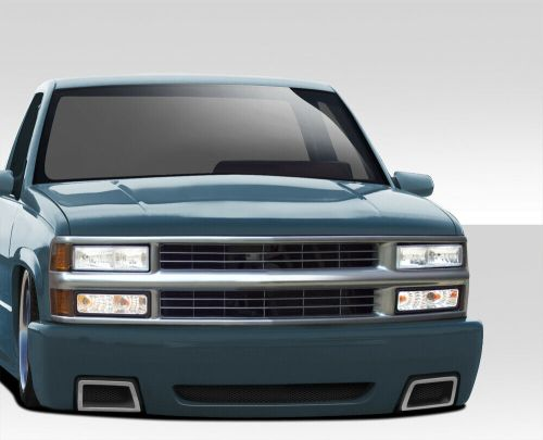 small resolution of details about 92 99 chevy tahoe suburban duraflex ss look front bumper body kit