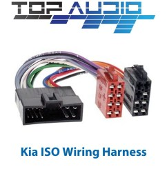 details about fit kia iso wiring harness stereo radio cable lead loom connector adaptor [ 1000 x 1000 Pixel ]