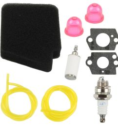 details about air fuel filter for poulan bvm200fe bvm210fa bvm210vs sm210vs blower tune up kit [ 1000 x 1000 Pixel ]