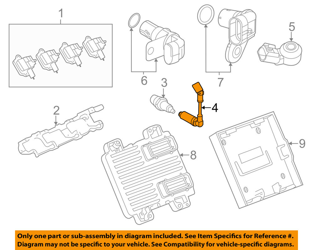 hight resolution of details about gm oem ignition spark plug wire set 19351569