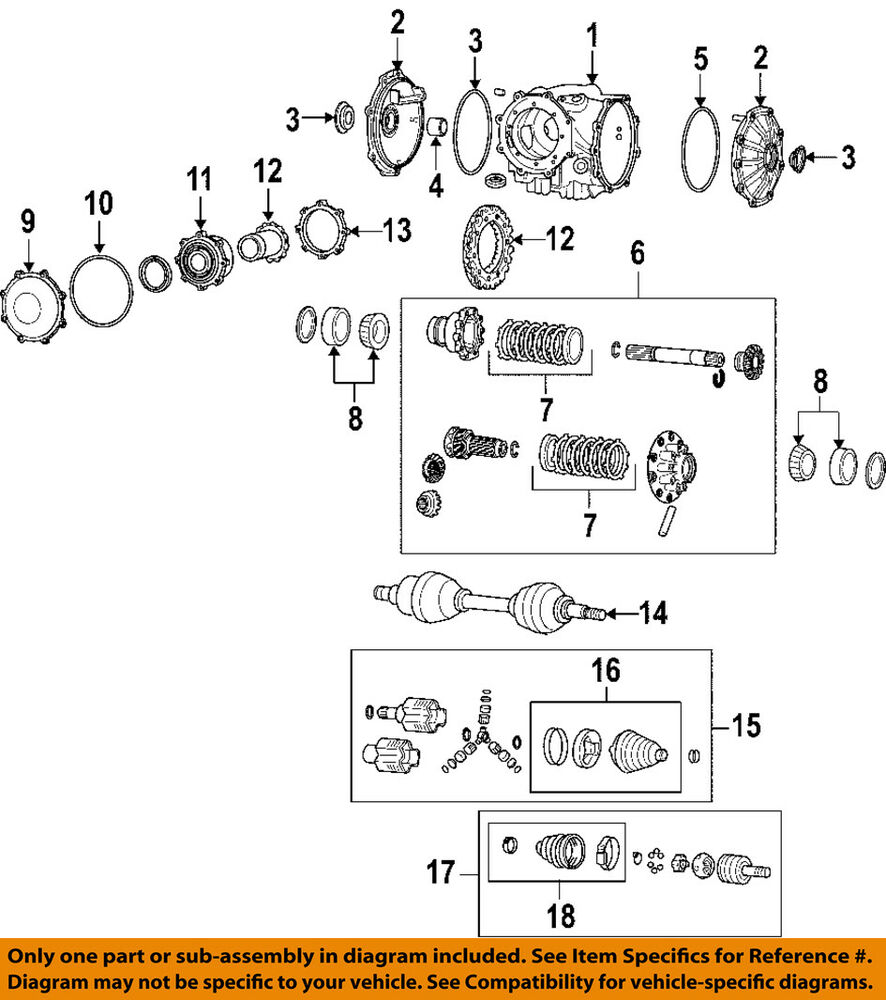 medium resolution of details about gm oem rear axle seals 19259473