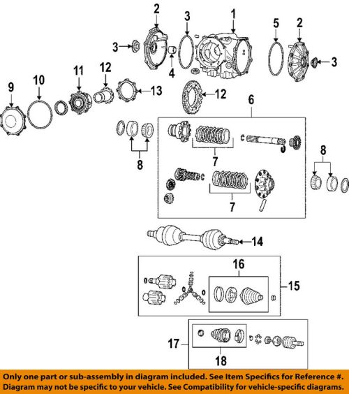 small resolution of details about gm oem rear axle seals 19259473