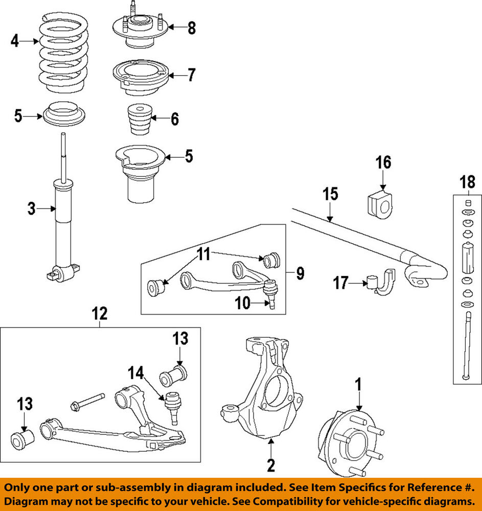hight resolution of details about gm oem front suspension mount 22826284