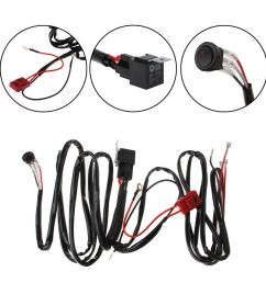 details about led light bar wiring harness for boat suv off road atv 40amp relay switch kit [ 1000 x 1000 Pixel ]