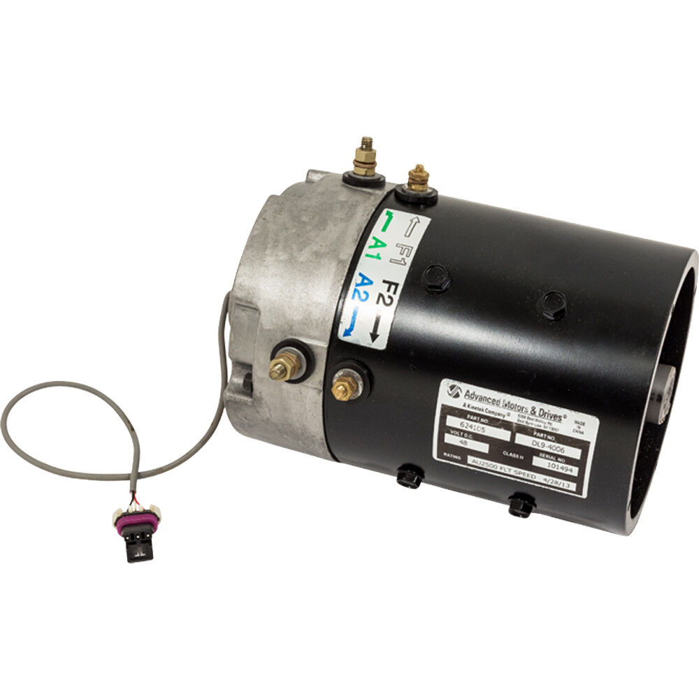 medium resolution of details about remanufactured e z go golf cart 48v electric motor with speed sensor