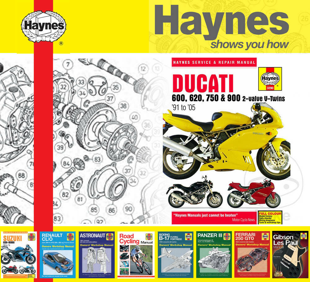 hight resolution of details about haynes service repair manual for ducati monster