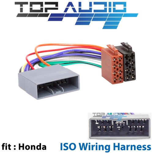 small resolution of details about fit honda iso wiring harness stereo radio plug lead loom connector adaptor