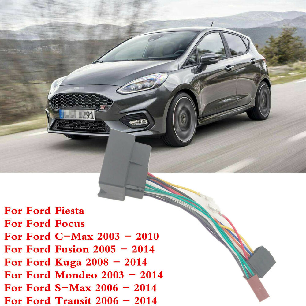medium resolution of details about 1 pcs car audio stereo standard iso connect wiring harness for ford fiesta focus