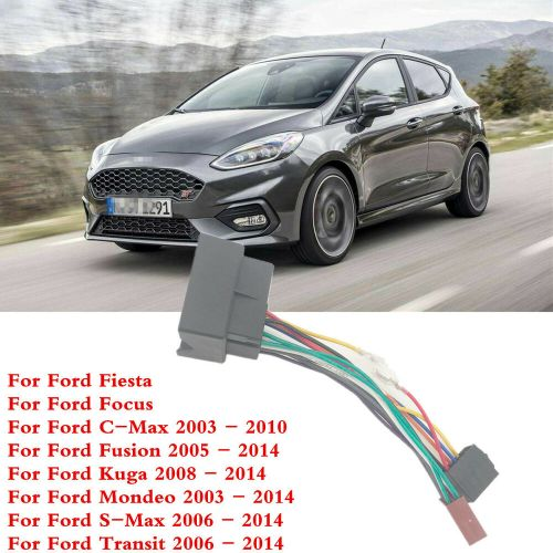 small resolution of details about 1 pcs car audio stereo standard iso connect wiring harness for ford fiesta focus
