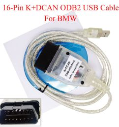 details about for bmw inpa k dcan usb interface obd2 obdii 16 pin car diagnostic tool cable [ 1000 x 1000 Pixel ]