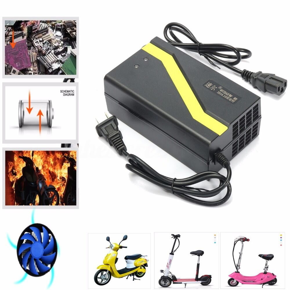 medium resolution of details about 48v 20ah us plug lead acid battery charger for electric bicycle bike scooters