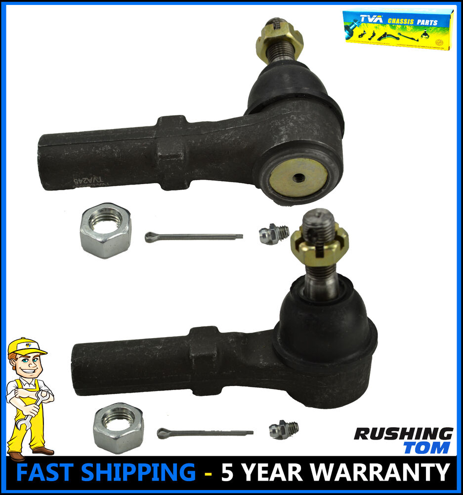 hight resolution of details about 2 front outer tie rod end chevy gmc savana 2500 3500 4500 yukon xl 2500 l r