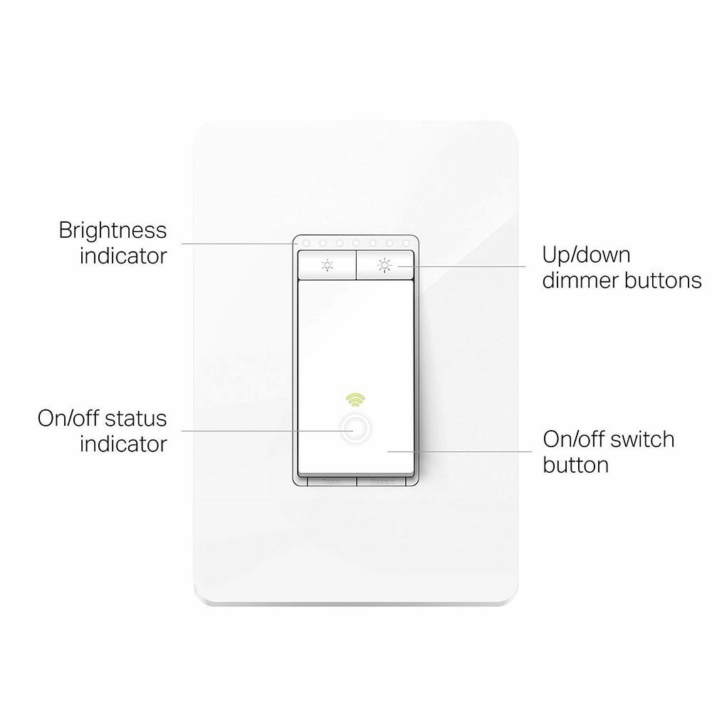 hight resolution of details about tp link kasa smart wi fi dimmer light switch alexa google refurbished hs220