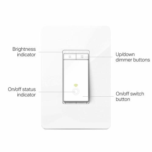 small resolution of details about tp link kasa smart wi fi dimmer light switch alexa google refurbished hs220