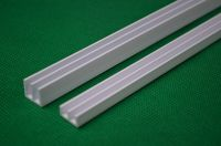 90cm White 4mm PVC Glass Track Runners fit 3ft Vivarium ...