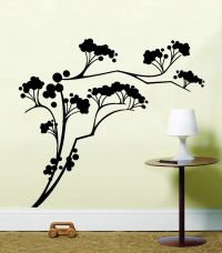 Oriental Japanese Tree Wall Art Bedroom, Kitchen Sticker