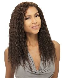 """QUE NATURAL SUPER WEAVE 10"""" WET & WAVY STYLE BY MILKYWAY ..."""