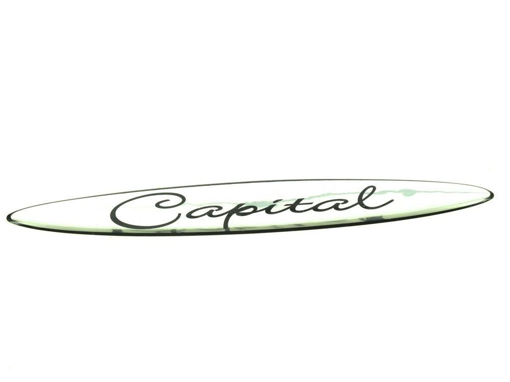 Genuine New VAUXHALL CAPITAL BADGE Opel For Corsa C 2000