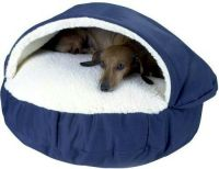 SNOOZER COZY CAVE COVERED DOG CAT NESTING PET BED SMALL ...