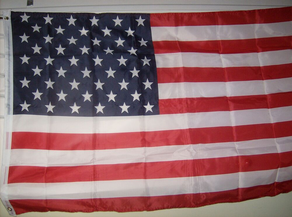 Usa American Flag 4'x6' 100% Polyester Sold By A