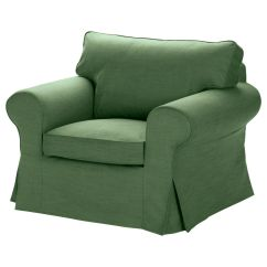 Www.ikea Chair Covers Cheap High Ikea Ektorp Cover Replacement Armchair Slipcover Svanby Green New | Ebay