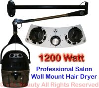 Professional Wall Mounted Hooded Hair Dryer Mount Barber