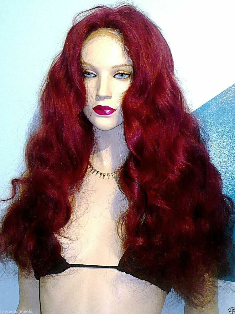 Glueless Silk Top Remi Remy Full Lace Wig Human Hair