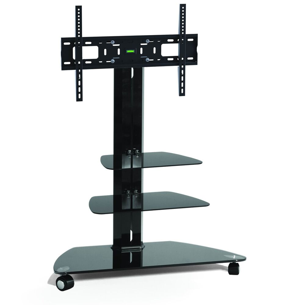 """Corner TV Stand With Wheels 32"""""""