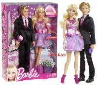 Barbie Stepping Out Prom Date Night Ken and Barbie 2 doll ...