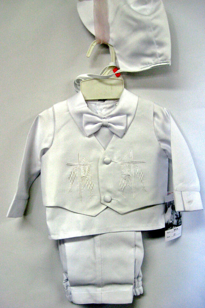 Baby Boy Communion Christening Baptism Outfit Suit Set