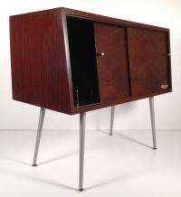 Vintage Mid Century Modern RCA Victor Record Cabinet ...
